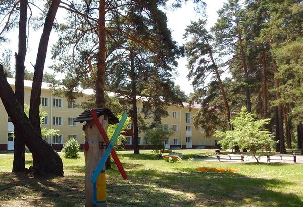 санаторий Лесники, 20 км от Кургана