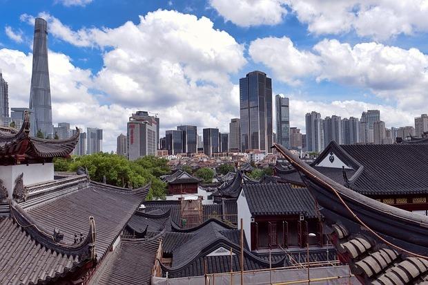 старый и новый Шанхай